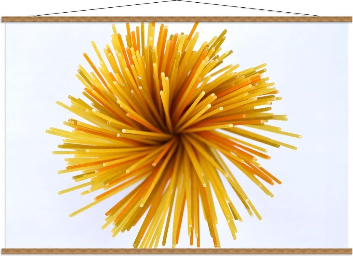 Schoolplaat – Geel/Oranje Bal - 150x100cm Foto op Textielposter (Wanddecoratie op Schoolplaat)