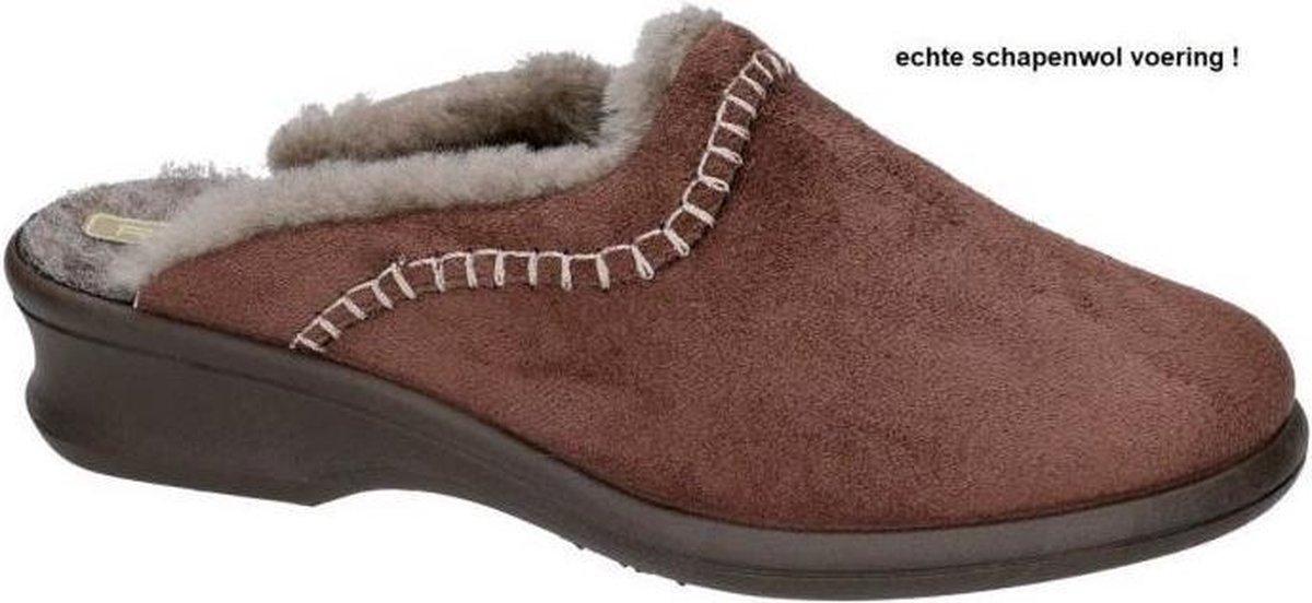 Rohde -Dames -  bruin - pantoffel - muil - maat 37