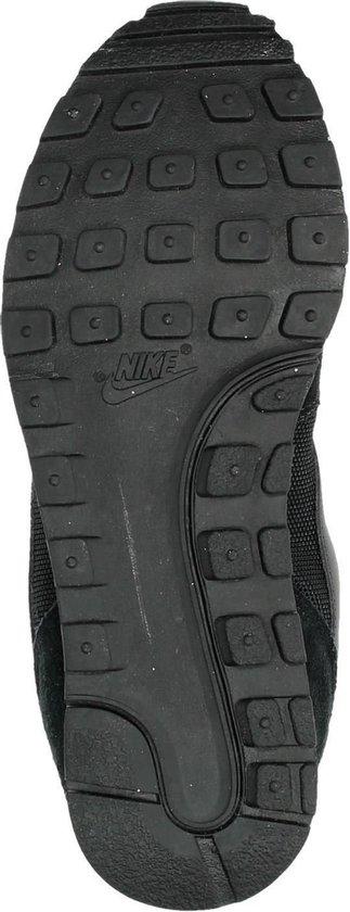 Nike Md Runner 2 Dames Sneakers - Black/Black-White - Maat 36.5 - Nike