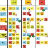 2DOBOARD Scrum Magneten Startpakket - Basic - Gelijk goed starten met jouw Kanban of Scrum Board - Het perfecte Kanban of Scrum Board met alles er op en er aan!