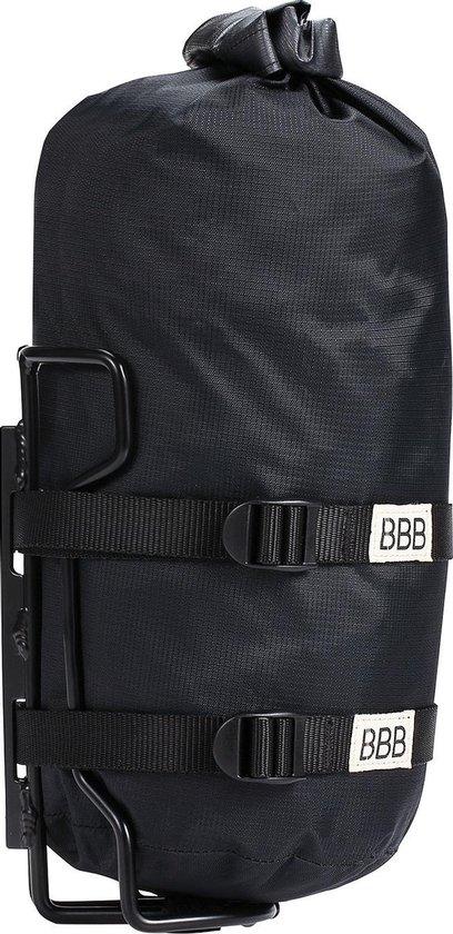 BBB Cycling Bikepacking Fietstas Waterbestendig StackPack Met Houder BSB-145 - Inhoud 4 Liter