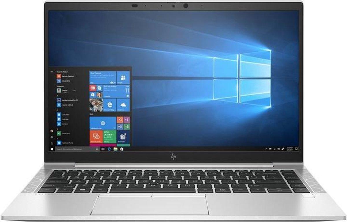 "HP EliteBook 840 G7 Ultra-draagbaar Zilver 35,6 cm (14"") 1920 x 1080 Pixels Intel® 10de generatie Core™ i7 16 GB DDR4-SDRAM 512 GB SSD Wi-Fi 6 (802.11ax) Windows 10 Pro"