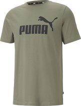 PUMA Essential Logo Heren T-Shirt - Maat XL