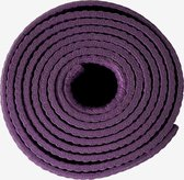 Paarse/Lila Yogamat - Fitnessmat 4mm dik - Paars - Rituals - Antislip -  Ideaal voor thuis of in de sportschool -  183 x 61 cm - Inclusief draagelastiek