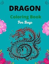 Dragon Coloring Book For Boys