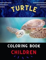 Turtle coloring book children: Funny & awesome turtle coloring book for kids, toddlers, boys & girls: A fun kid coloring book for beginners