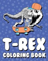 T-Rex Coloring Book