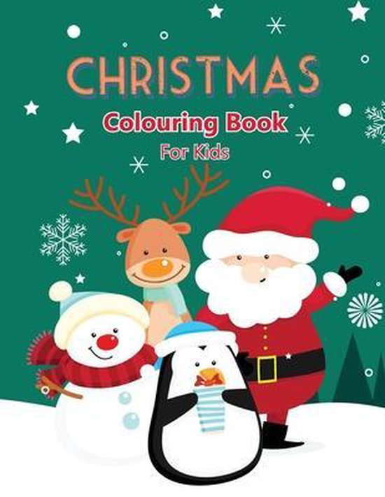 Christmas Colouring Book For Kids