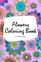 Flowers Coloring Book for Children (6x9 Coloring Book / Activity Book)