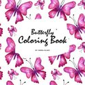 Butterfly Coloring Book for Teens and Young Adults (8.5x8.5 Coloring Book / Activity Book)