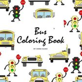 Bus Coloring Book for Children (8.5x8.5 Coloring Book / Activity Book)