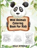 Wild Animals Coloring Book For Kids