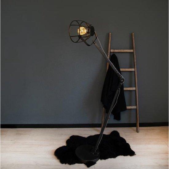 Brilliant Industriële Vloerlamp Matrix 165cm