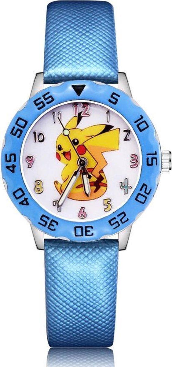 Pokémon horloge met glow in the dark wijzers deluxe