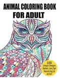 Animal Coloring Book For Adult
