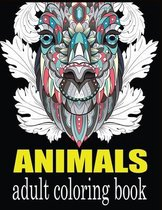 Animals Adult Coloring Book