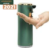 Automatische zeep dispenser desinfectie - Elektrische foam dispenser met sensor No Touch - Groene Kleur