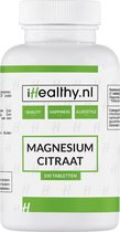 Magnesium citraat 100 tabletten Vega/Vegan – iHealthy.nl