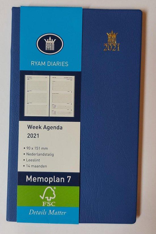 Afbeelding van Memo 7 St. Wit NL Suprema Blauw