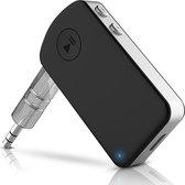 Strex Bluetooth Receiver - BT 5.0 - 3.5MM AUX - Bluetooth Ontvanger - Handsfree Bellen - Bluetooth Audio Receiver - Bluetooth via AUX