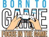 Gaming T-shirt 'BORN TO GAME maat M