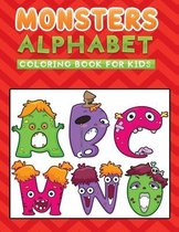 monsters alphabet coloring book for kids
