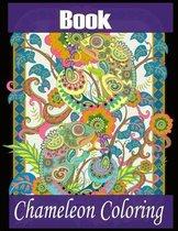 Book Chameleon Coloring