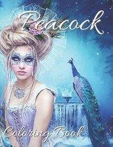 Peacock Coloring Book
