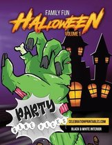 Family Fun HALLOWEEN Party Games Pack for Ages 8-12 & Adults Volume 1