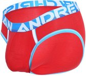 Andrew Christian CoolFlex Active Modal Brief w/ Show-It Rood - MAAT S - Heren Ondergoed - Heren Slips - Slip