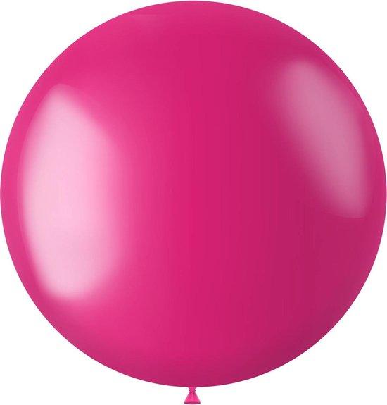 Fuchsia Ballon Metallic Fuchsia Pink 80cm
