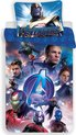 Marvel Avengers Endgame Dekbedovertrek - Eenpersoons - 140x200 cm - Multi