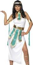 Egyptische koningin kostuum voor dames - Verkleedkleding - Small