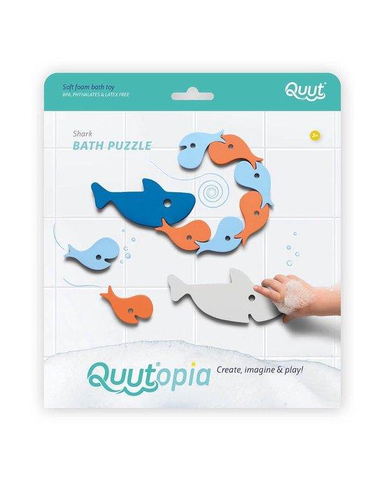 Quutopia Foam Badspeelgoed Badpuzzel Shark Haai Vissen - Cadeau Baby Jongen Meisje 1 jaar | 2 jaar | 3 jaar | 4 jaar