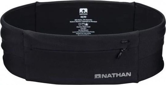 Nathan The Zipster Black S - Runningbelt