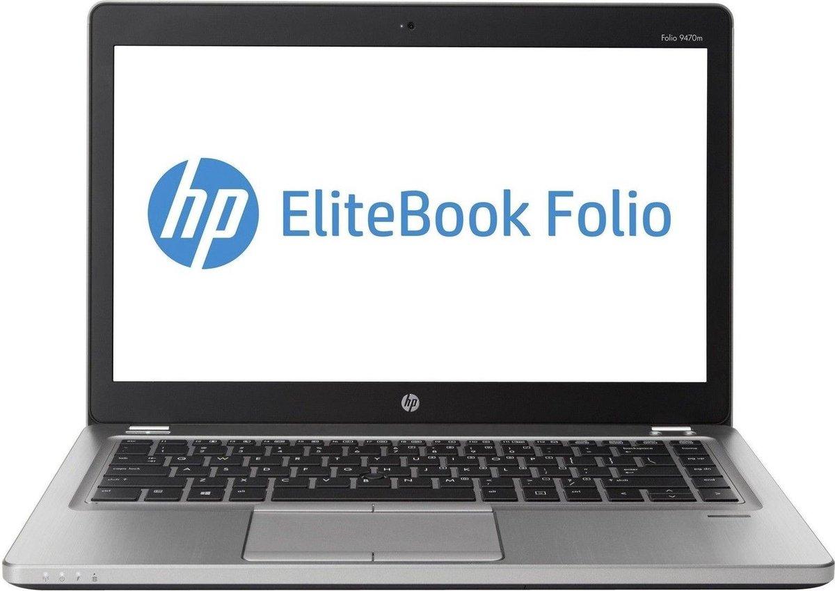HP Elitebook Folio 9470M (Refurbished) 14 inch Intel Core i5 - 8GB - 128GB SSD - Windows 10