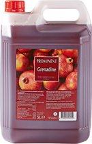 Limonade Siroop Grenadine smaak Grote XL Jerrycan 5 Liter Prominent