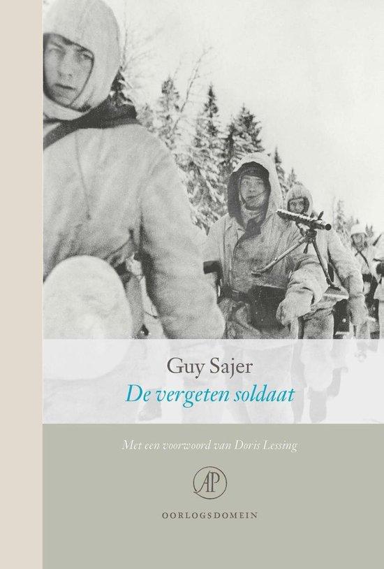 Boek cover De vergeten soldaat van Guy Sajer (Onbekend)