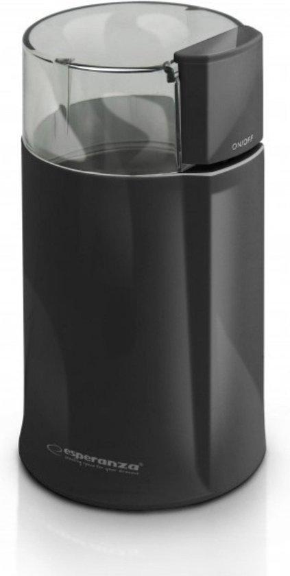Koffiemolen - Koffiemolen electrisch - RVS - Zwart - Koffiebonen maler
