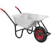 Gardebruk Kruiwagen 100 liter - luchtband - 250kg draagkracht – tuin bouwplaats