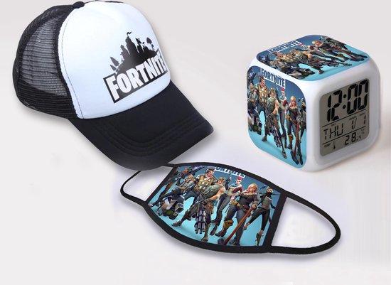 Fortnite game pet en wekker - baseball cap snapback kleding / passend bij t-shirt
