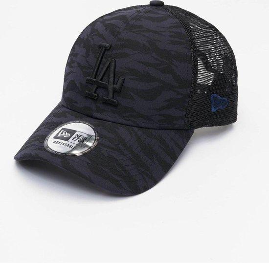 New Era Trucker Cap LA Dodgers Camo Grijs / zwart