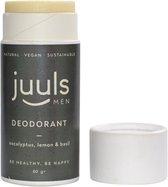 Juuls Care Vegan Deodorant - Eucalyptus - Zonder Aluminium - 100% Natuurlijk - Halal - Papieren Koker - 60 gr