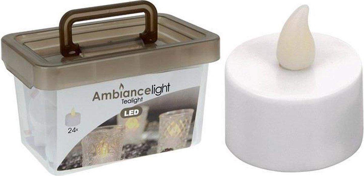 Box met 24 LED-Theelichtjes