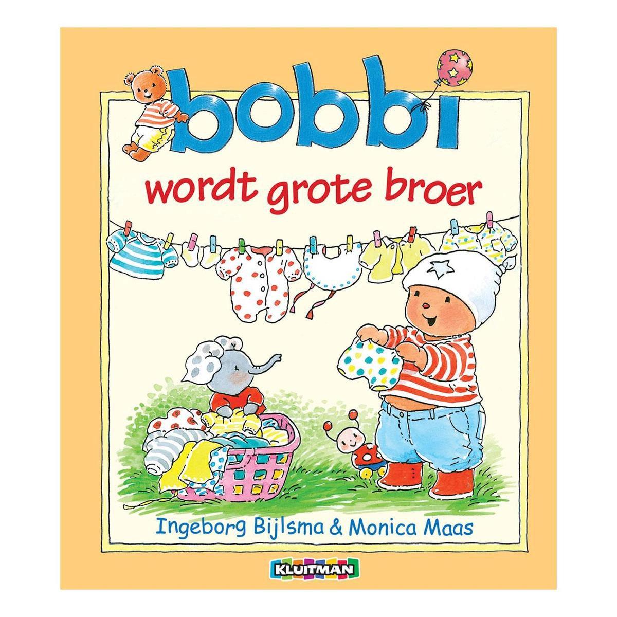 Bijlsma, Ingeborg & Monica Maas - Bobbi wordt grote broer