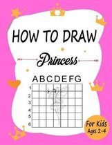 How to draw Princess for kids