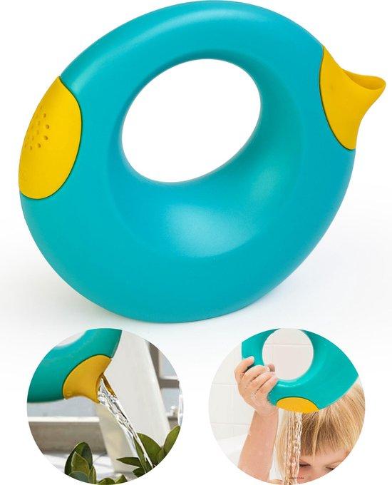 Quut Cana Speelgoed Gietertje - Tuin Bad Strand Speelgoed Meisje Jongen - Cadeau 1 jaar | 2 jaar | 3 jaar | 4 jaar | 5 jaar - Geel Blauw - Small 0,5 liter Blauw