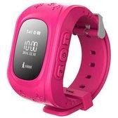 Smart Horloge voor Kinderen - GPS Tracker voor Kinderen - Waterdicht scherm- 0.96 inch Display - Roze