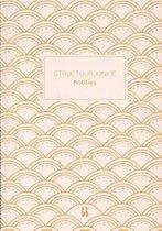 Structuurjunkie  -   Structuurjunkie notitieboek (roze)