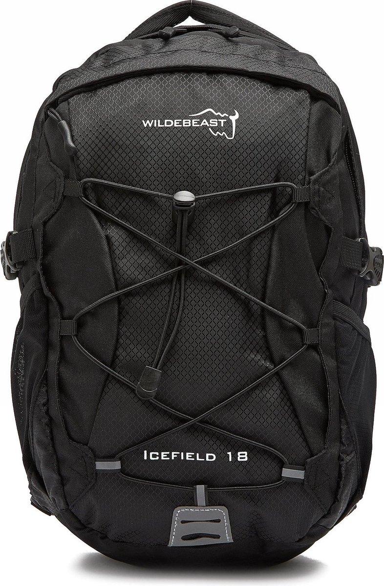 Wildebeast Icefield Daypack - Wandelrugzak - 18 Liter -Zwart